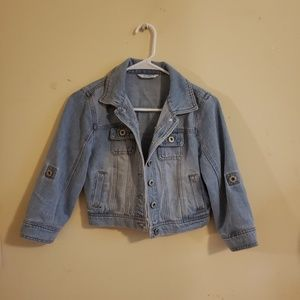 Small Cropped Jean Jacket
